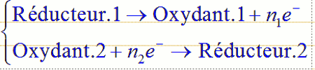 equation redox 1