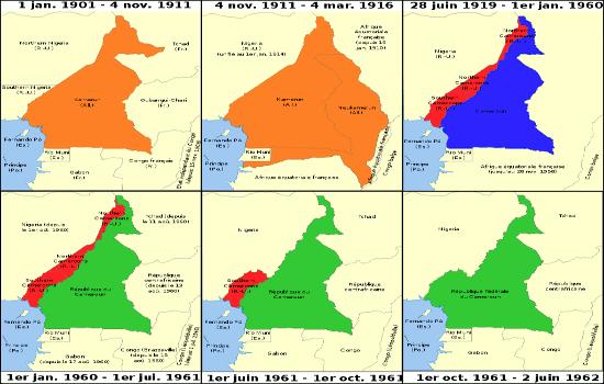 evolution superficie du cameroun