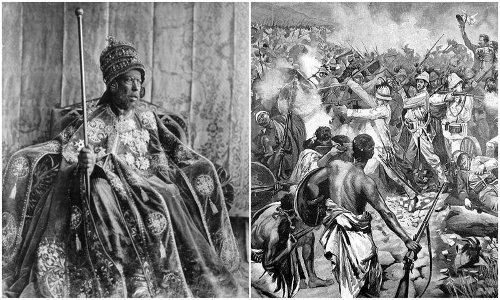 Le Roi des rois et la photographie | UN TRAIN EN AFRIQUE